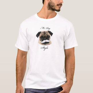 Herr Pug Collection T-Shirt
