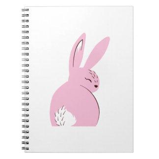 Herr Rabbit Journal - hübsch im Rosa! Notizblock