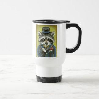 Herr Raccoon Reisebecher