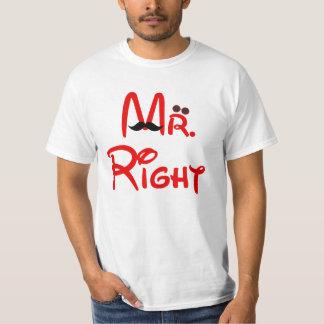 Herr Right Couple Mens T-Shirt