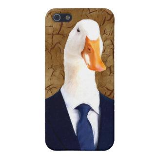 Herr Robertson - Gans: iPhone 5 Schutzhülle