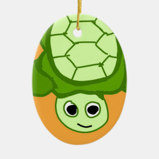 Herr Schildkröte, weil ich Schildkröten mag Keramik Ornament