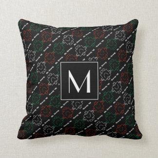 Herr Strong | rotes, weißes u. grünes des Muster-| Kissen