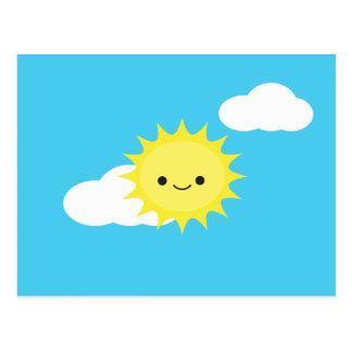 Herr Sun Postkarte