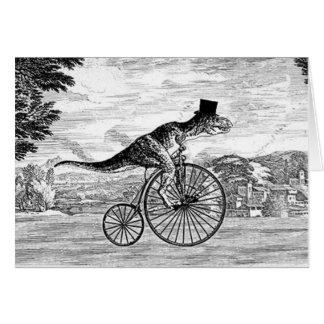 Herr T-Rexs Sonntags-Fahrt Karte