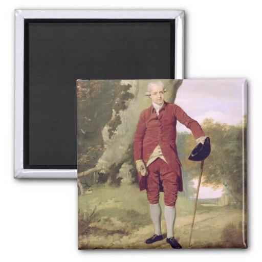 Herr Thrale, c.1770-80 (Öl auf Leinwand) Kühlschrankmagnet