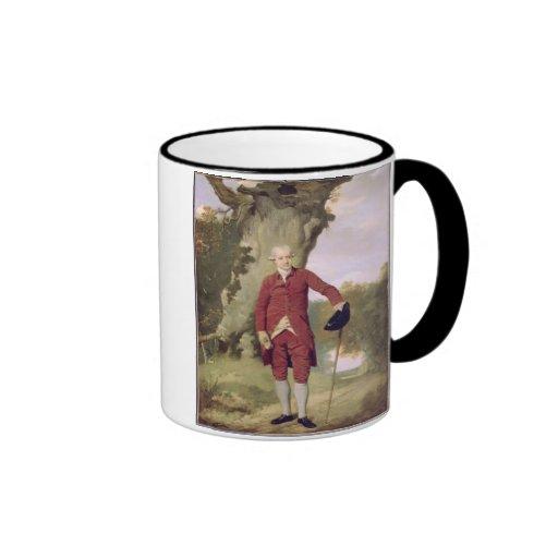 Herr Thrale, c.1770-80 (Öl auf Leinwand) Tee Tasse