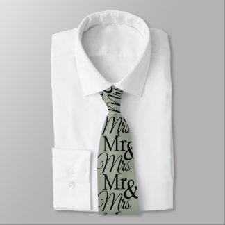 Herr u. Frau Olive Mens Tie Krawatte
