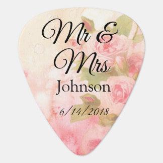 Herr u. Frau Plektrum personalisiertes Wedding