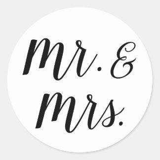 Herr und Frau Aufkleber