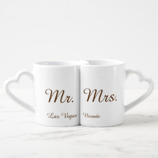 Herr und Frau Las Vegas Liebestassen