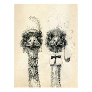 Herr und Frau Ostrich