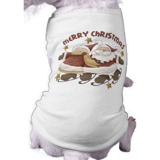 Herr. Und Weihnachten Frau-Weihnachtsmann Shirt