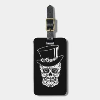 Herr-Zucker Skull-01 Gepäckanhänger