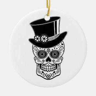 Herr-Zucker Skull-01 Keramik Ornament