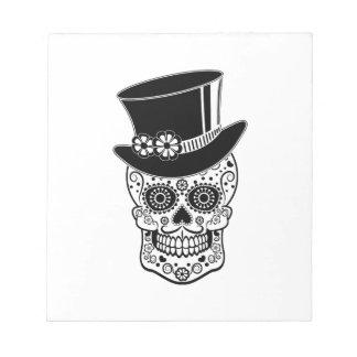 Herr-Zucker Skull-01 Notizblock