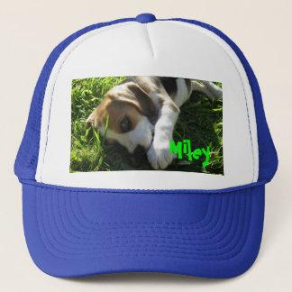 herrlich, Miley, Beagle, niedlich, Welpe, Hund Truckerkappe