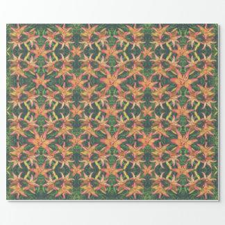 Herrliche Azaleen-Blumenmuster-Packpapier Geschenkpapier