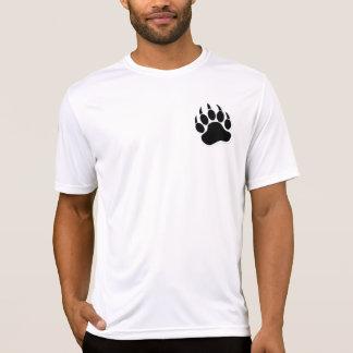 Herrliche homosexuelle Bärentatze in B u. in W - T-Shirt