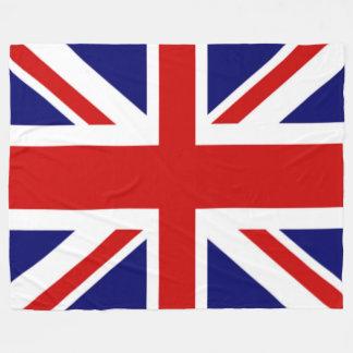 Herrliche Königreich-Flagge der Gewerkschafts-Jack Fleecedecke