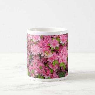 Herrliche rosa Blumen-Tasse Tasse