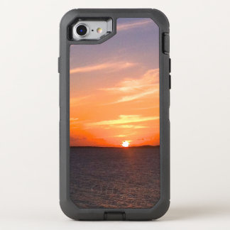 Herrliche Türken des Sonnenuntergang-| und OtterBox Defender iPhone 8/7 Hülle