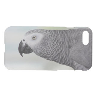 Herrlicher afrikanisches Grau-Papagei iPhone 8/7 Hülle