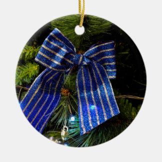 Herrlicher blauer Bogen Keramik Ornament