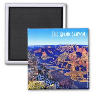 Herrlicher Grand- Canyonmagnet Quadratischer Magnet