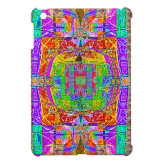 Herrlicher vibrierender geometrischer Entwurf iPad Mini Hülle