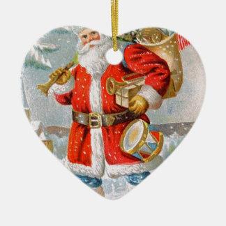 Herrliches amerikanisches patriotisches keramik ornament