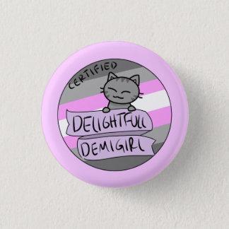 Herrliches Demigirl Runder Button 3,2 Cm