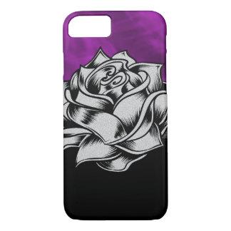Herrliches lila Rosegrunge-Geschenk iPhone 8/7 Hülle