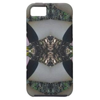 Herrliches seltenes Lavendel-Schwarz-Muster iPhone 5 Schutzhülle