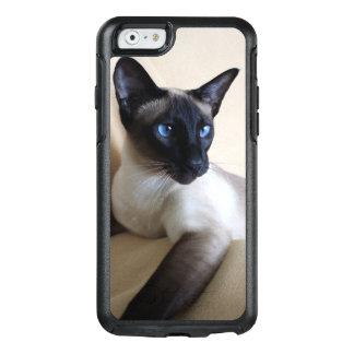 Herrliches siamesische Katzen-Gesicht OtterBox iPhone 6/6s Hülle