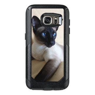 Herrliches siamesische Katzen-Gesicht OtterBox Samsung Galaxy S7 Hülle