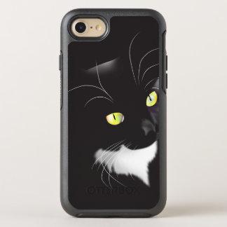 Herrliches Smokings-Katze iPhone 6 Symmetrie-Reihe OtterBox Symmetry iPhone 8/7 Hülle
