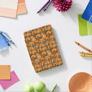HerrTickle   orange Tickle-Muster iPad Mini Cover