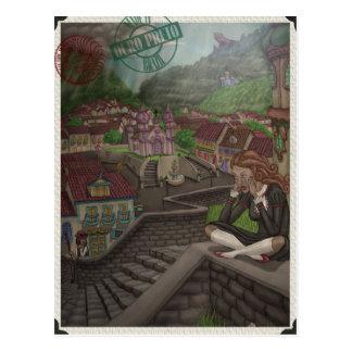 Hersteller der magischen Risse durch Ordovich Postkarte