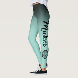 Hersteller • Schwarzes u. tadelloses Ombre Leggings