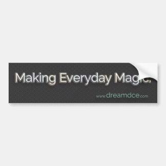 Herstellung des täglichen magischen Autoaufklebers Autoaufkleber