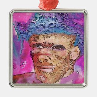 Herum spielen mit Van Gogh Silbernes Ornament