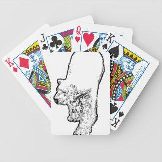 Herumstreichender Eisbär Bicycle Spielkarten