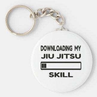 Herunterladen meiner Jiu-Jitsu Fähigkeit Standard Runder Schlüsselanhänger