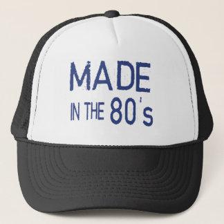 Hervorbringt in den Jahren 80 Truckerkappe
