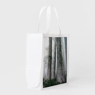 Hervorrufen des Waldes Wiederverwendbare Einkaufstasche