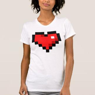 Herz 8bit shirt