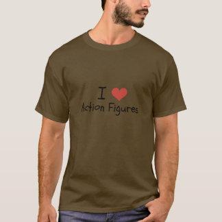Herz-Aktions-Zahlen Shirt I der Männer