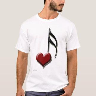 Herz-Anmerkung T-Shirt