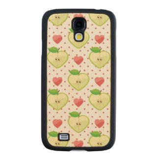 Herz-Äpfel mit rosa Tupfen und Herzen